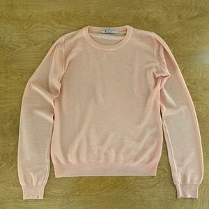 alexander wang cotton mesh sweater